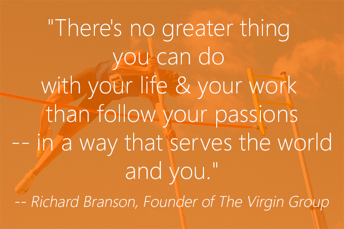 follow your passion Richard Branson Quote